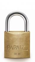 Papaiz 200 Series 35mm Brass Padlock