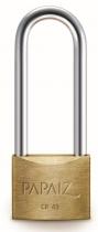 Papaiz 200 Series 45mm Long Shackle Brass Padlock